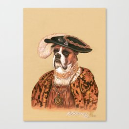 Boxer. The Duke Canvas Print
