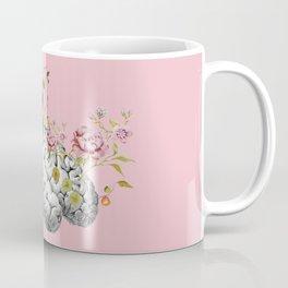 Brain Flowers Collage Coffee Mug