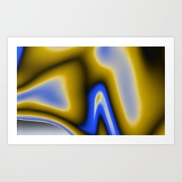 Gradient I Art Print