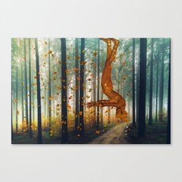 Ghost of Autumn Canvas Print