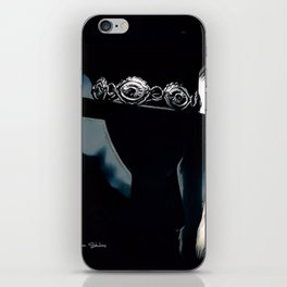 Stevie Ray Vaughan Famous Hat - Blue iPhone Skin