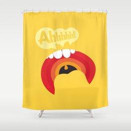 Ahhhhhh! Shower Curtain