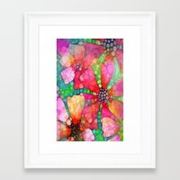 stained glass Framed Art Prints featuring Stained Glass by 2dayspic