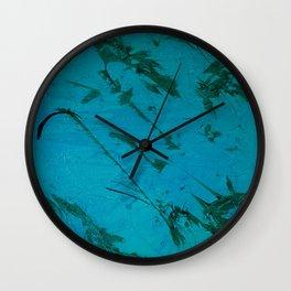 green sea Wall Clock