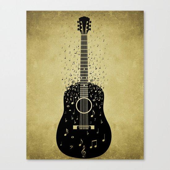 Musical ascension Canvas Print