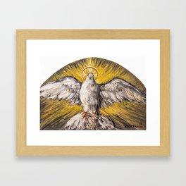 Come Holy Spirit Framed Art Print