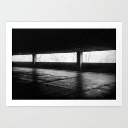 The Second Floor Art Print