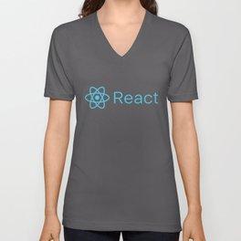 React Unisex V-Neck