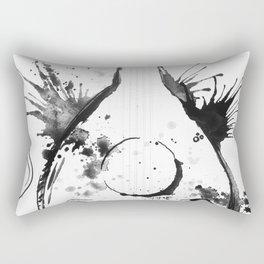 OUD IN WHITE - madewithunicorndust by Natasha Dahdaleh Rectangular Pillow