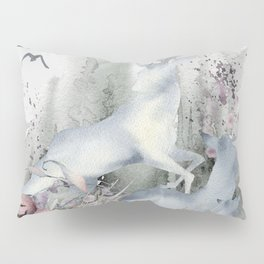 The Deer in My Forest Pillow Sham