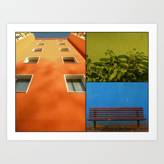 Urban Fragments II Art Print