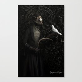 The Messenger Canvas Print