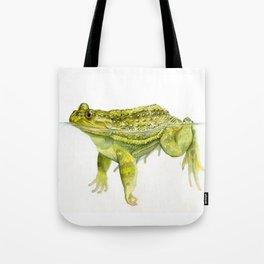 Helmeted Water Toad (Calyptocephallela gayi) Tote Bag