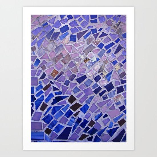 The Calm Mosaic Art Print