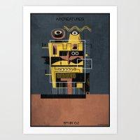 02_ARCREATURES-01 Art Print