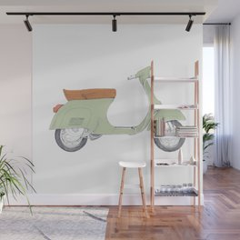 Italian Moto Wall Mural