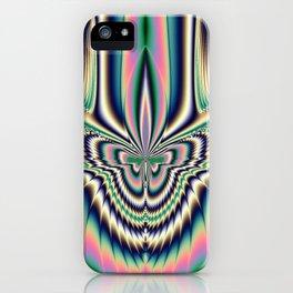 Fractal Moth iPhone Case