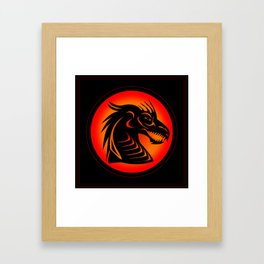 Dragon Shadow Framed Art Print