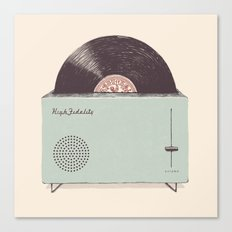 High Fidelity Toaster Canvas Print