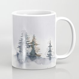 Watercolor Pine Coffee Mug