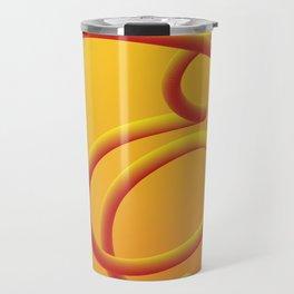 Letter E Travel Mug