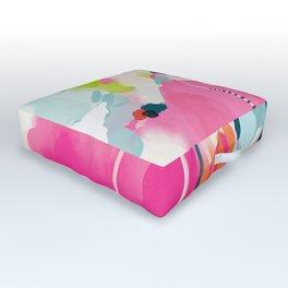pink sky II Outdoor Floor Cushion
