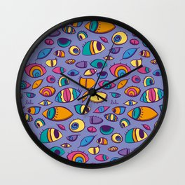 look arround Wall Clock