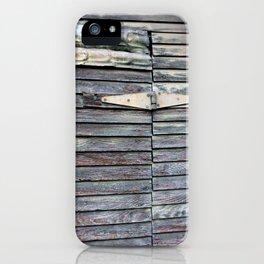 Green Barn Hinge iPhone Case