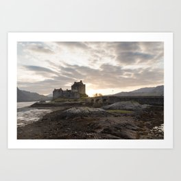 Donan Castle, Isle of Skye Art Print