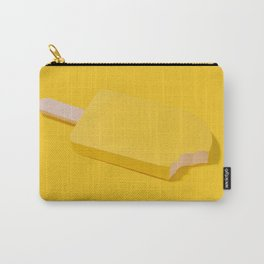 Ice Cream Yellow Carry-All Pouch