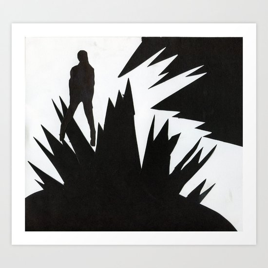 Sharp edge Art Print