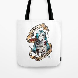 Forever 29 Zombie Girl Tote Bag