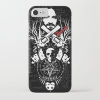 horror iPhone & iPod Cases featuring Horror by Lowercase Industry