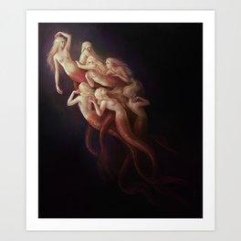 The Shiver Art Print