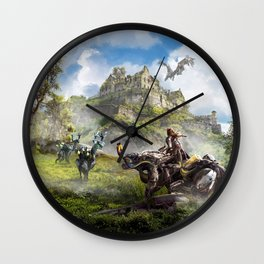 Edinburgh [Horizon Zero Dawn] Wall Clock
