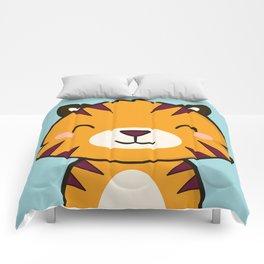 Kawaii Cute Tiger Comforters
