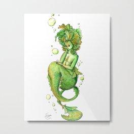 Mermaid 1 Metal Print