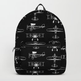 Biplanes // Black Backpack