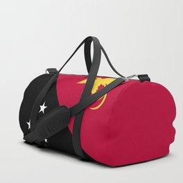 Papua New Guinea flag emblem Duffle Bag