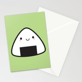 Kawaii Onigiri Rice Ball Stationery Cards