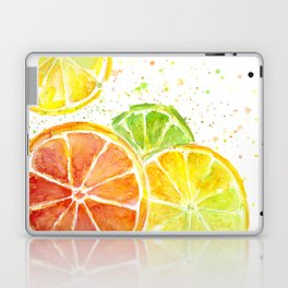 Fruit Watercolor Citrus Laptop & iPad Skin