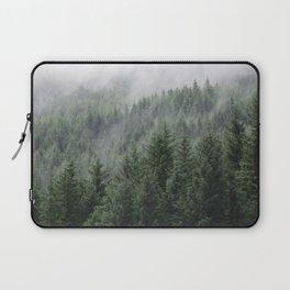 Fog Forest Laptop Sleeve