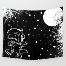 DINOSAUR IN SPACE! Wall Tapestry