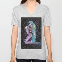 Love is a Vortex - Chakra Spiritual Kundalini Yoga Sex Unisex V-Neck