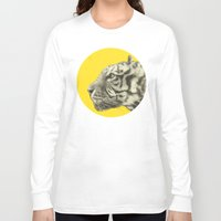eric fan Long Sleeve T-shirts featuring Wild 4 by Eric Fan & Garima Dhawan by Garima Dhawan