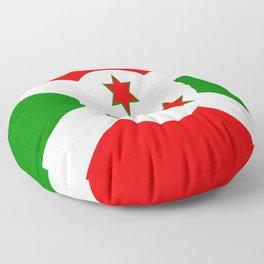 Flag of Burundi Floor Pillow