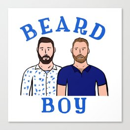 Beard Boy: Karl & Thomas Canvas Print