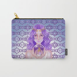 Pisces Amethyst Carry-All Pouch