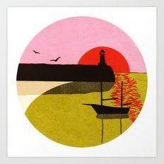 Sea Fever 3 Art Print