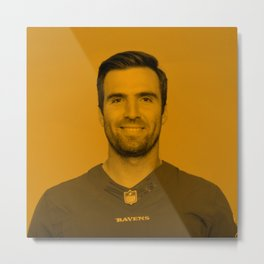 Joe Flacco Metal Print